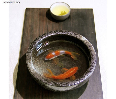 "3D Painting Of Fish In Resin Water inspired by Riusuke Fukahori ""君逑"" - YannyExpress  - 1"