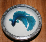 3-D Painting Halfmoon Betta Fish Resin Water Riusuke Fukahori - YannyExpress  - 4