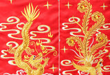 Chinese Wedding Kwa Qun Traditional Bridal Qipao Gown - YannyExpress  - 6