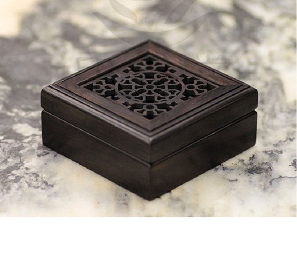 Ebony Wood Incense Burner - YannyExpress  - 1