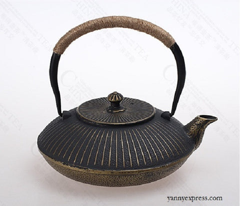 MOON CAST IRON TEAPOT - YannyExpress  - 1
