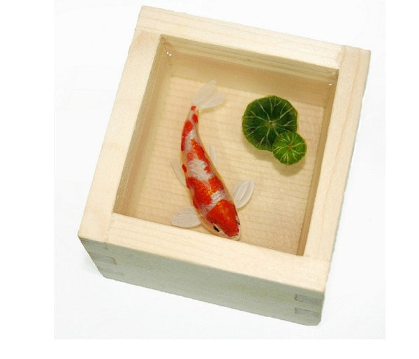 "3D Paintings Of Fish ""Koi"" In Resin Water inspired by Riusuke Fukahori - YannyExpress  - 1"