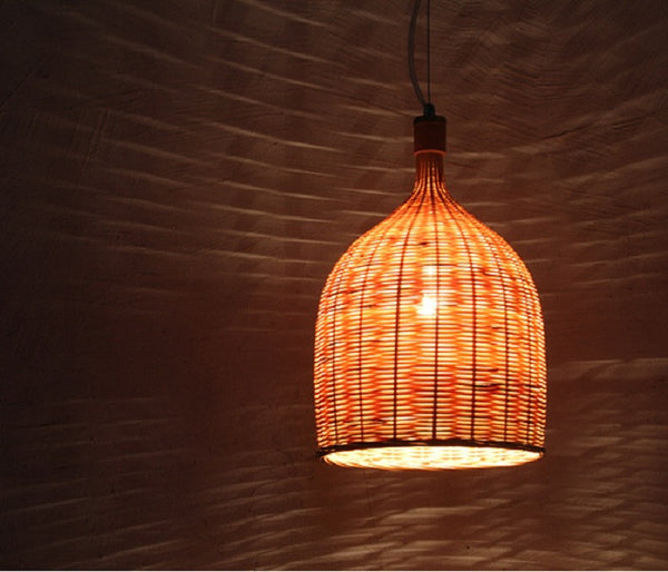 Bamboo Lamp Cover - YannyExpress  - 1