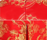 Chinese Wedding Dress Qipao Bridal Gown Dragon and Phoenix Banquet Hall - YannyExpress  - 7