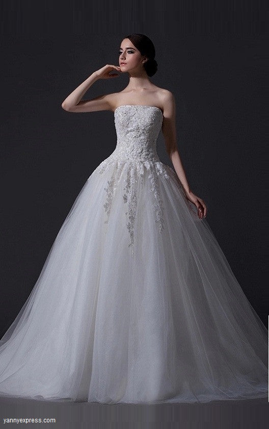 Wedding Dresses For The Busty Yannyexpress
