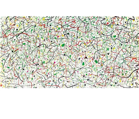 "Chinese Contemporary Painting ""Spring Lines"" by Wu Guanzhong 吴冠中 - YannyExpress"