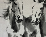 "Chinese Fine Art Painting ""Eight Horses"" by Xu Beihong 徐悲鴻 ""八駿圖"" - YannyExpress  - 2"
