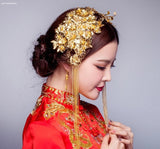 Chinese Wedding Double Hairpieces for Kwa Qun - YannyExpress  - 3