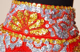 Chinese Wedding Gown Grand Embroidery Kwa Qun - YannyExpress  - 6