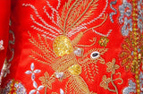 Chinese Wedding Gown Grand Embroidery Kwa Qun - YannyExpress  - 9