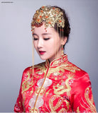 Chinese Wedding Hair Set for Kwa Qun - YannyExpress  - 5