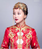 Chinese Wedding Hair Set for Kwa Qun - YannyExpress  - 6