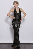 Glamorous Shimmer Evening Ball Dress - Glamour J3027 - YannyExpress  - 3
