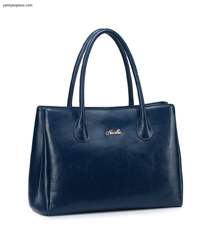 Jet Set Large Leather Tote - YannyExpress  - 1