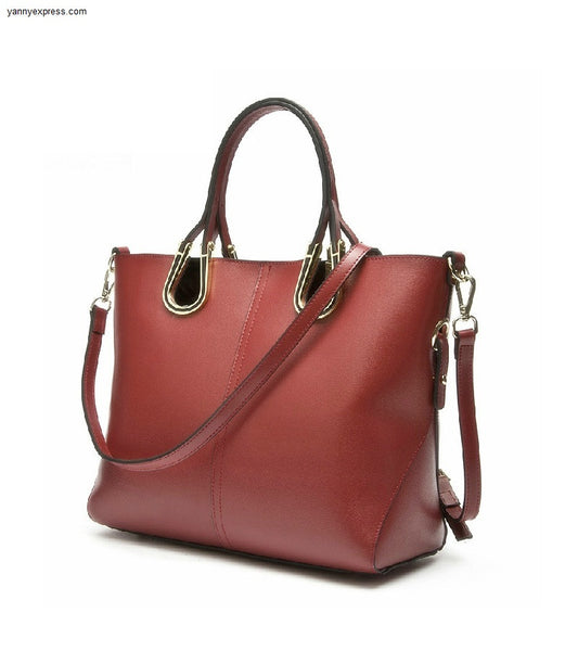 Kerrington Leather Shopper - YannyExpress  - 1