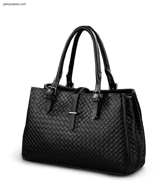 Lexington Leather Tote - YannyExpress  - 1