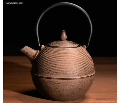 MAYU CAST IRON TEAPOT - YannyExpress  - 1