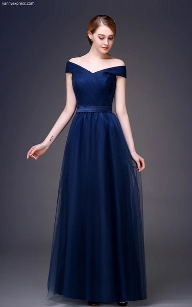 Picturesque Sleeveless Gown with Sash - YannyExpress  - 1
