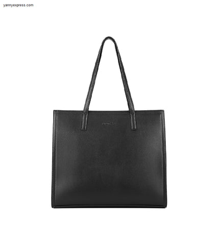 Saffiano Leather Tote - YannyExpress  - 1