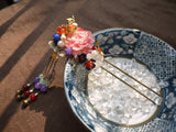 "Handmade Chinese Traditional Hairpins ""羽霞"" - YannyExpress  - 2"