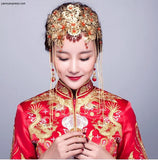 Chinese Wedding Hair Set for Kwa Qun - YannyExpress  - 4