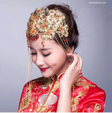 Chinese Wedding Hair Set for Kwa Qun - YannyExpress  - 2