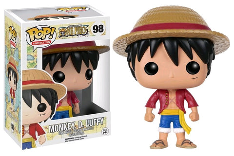 POP! ANIMATION: ONE PIECE: LUFFY