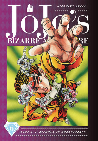 JOJOS BIZARRE ADVENTURE 4 DIAMOND IS UNBREAKABLE VOLUME 06 HC