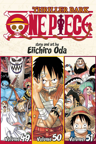 ONE PIECE VOLUME 17 (3 in 1 EDITION)