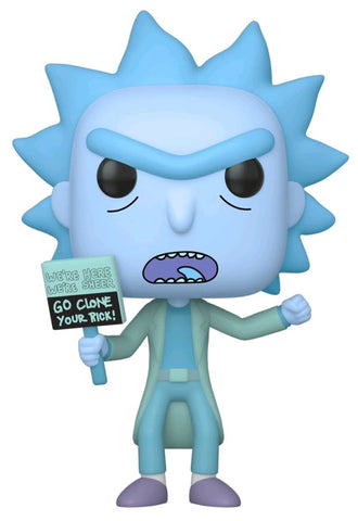 POP! ANIMATION: RICK & MORTY: HOLOGRAM RICK (CLONE)