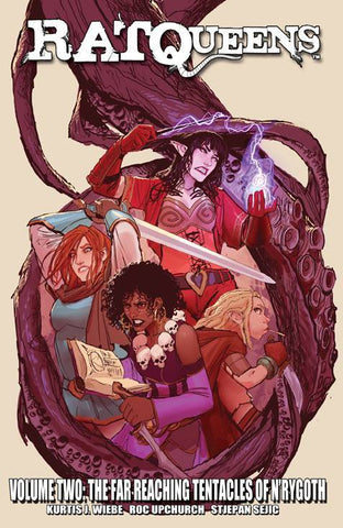 RAT QUEENS VOLUME 02 FAR REACHING TENTACLES OF N'RYGOTH