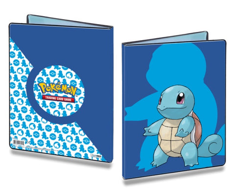 ULTRA PRO 9 POCKET FOLDER - POKEMON SQUIRTLE