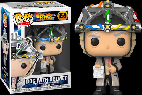 POP! MOVIES: BACK TO THE FUTURE: DR EMMETT BROWN WITH HELMET