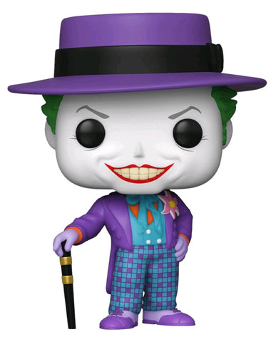 POP! MOVIES: BATMAN 1989: JOKER WITH HAT