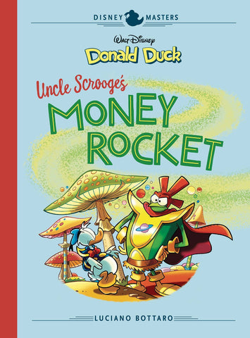 DISNEY MASTERS VOLUME 02 BOTTARO DONALD DUCK MONEY ROCKET HC