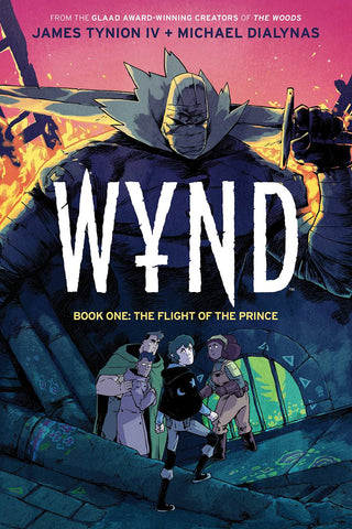 WYND BOOK 01 FLIGHT OF THE PRINCE EXCLUSIVE VARIANT HC
