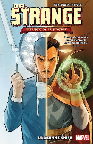 DR STRANGE SURGEON SUPREME VOLUME 01 UNDER THE KNIFE