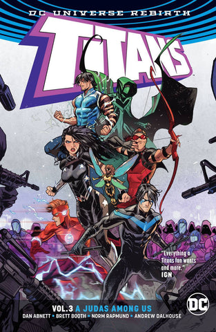 TITANS VOLUME 03 A JUDAS AMONG US (REBIRTH)