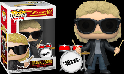 POP! ROCKS: ZZ TOP: FRANK BEARD