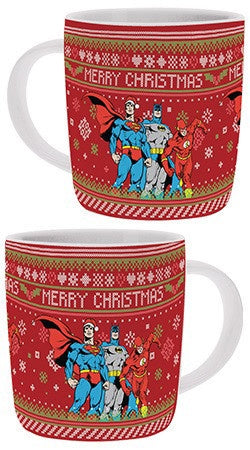 DC  COMICS CHRISTMAS MUG