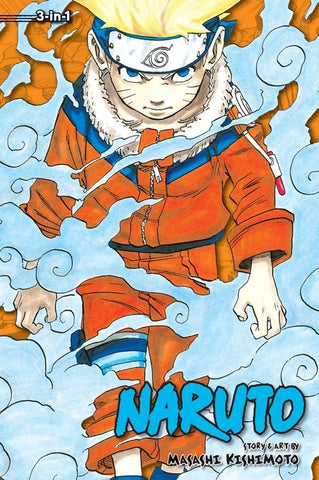 NARUTO VOLUME 01 (3 in 1 EDITION)