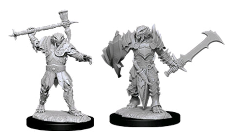 DUNGEONS & DRAGONS NOLZUR'S MARVELOUS UNPAINTED MINI:  DRAGONBORN PALADIN #3
