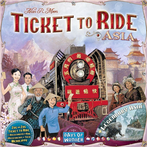 TICKET TO RIDE AISA