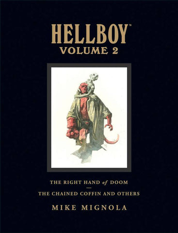 HELLBOY LIBRARY EDITION VOLUME 2 CHAINED COFFIN/RIGHT HAND OF DOOM