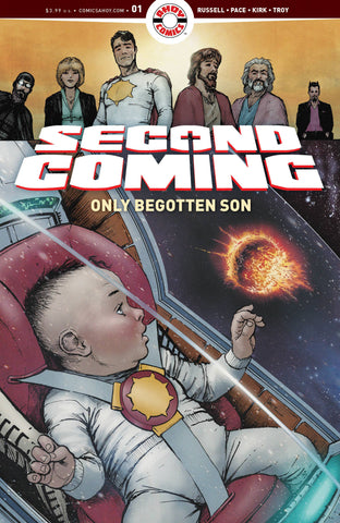 SECOND COMING ONLY BEGOTTEN SON #1 CVR A PACE