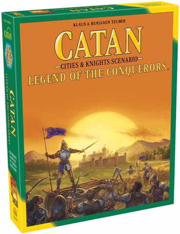 CATAN CITIES AND KNIGHTS SCENARIO - LEGEND OF THE CONQUERORS