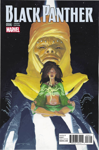 BLACK PANTHER #6 RIBIC CONNECTING B VARIANT