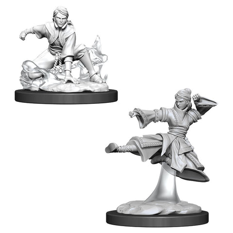 DUNGEONS & DRAGONS NOLZUR'S MARVELOUS UNPAINTED MINI: HUMAN MONK #2 (FEMALE)