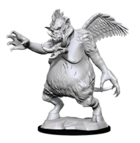 DUNGEONS & DRAGONS NOLZUR'S MARVELOUS UNPAINTED MINI: NALFESHNEE