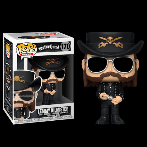 POP! ROCKS: MOTORHEAD: LEMMY KILMISTER WITH SUNGLASSES